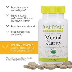Banyan Mental Clarity suplement to improve your mental clarity