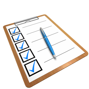 Create a checklist to overcome procrastination